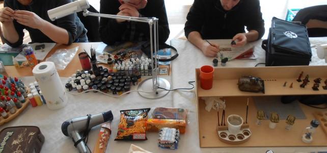 Bilder vom 7. PaintPals Meetup