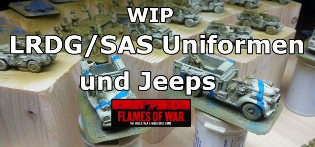 LRDG/SAS Uniformen bemalen