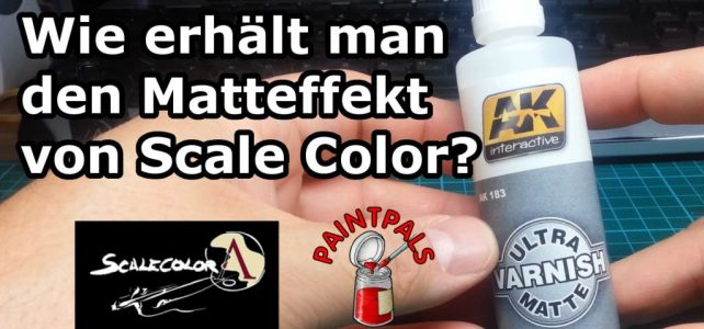 Ultra Matte Varnish von AK Interactive