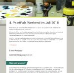 PaintPals Weekend 2018