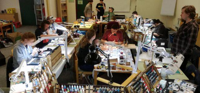 Eindrücke vom 3. PaintPals Wochenende